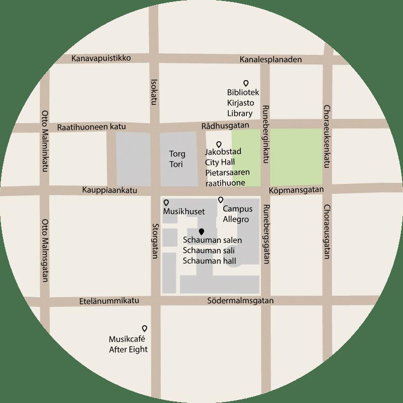 Schaumanhall karta